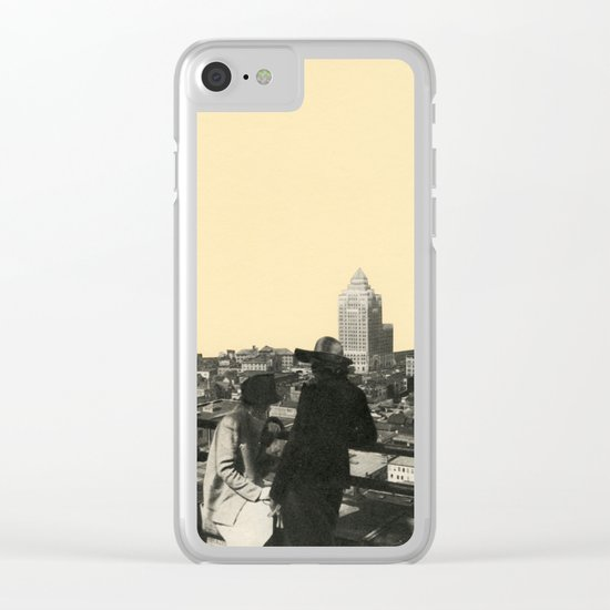 Views Across Vancouver Clear iPhone Case