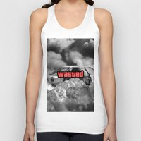 gta Tank Tops featuring Wasted GTA by JOlorful