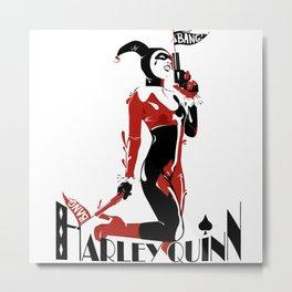 Harley Quiin 3 Metal Print