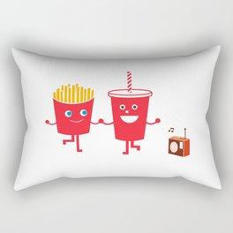 Fast friends Rectangular Pillow