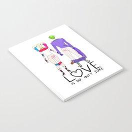 LOVE is no BUTT Joke - Handwritten Notebook