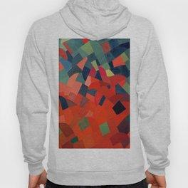Grün-Rot Otto Freundlich 1939 Abstract Art Mid Century Modern Geometric Colorful Shapes Hard Edge Hoody