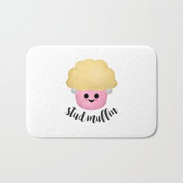 Stud Muffin - Earrings Bath Mat