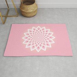 Pink Lotus Rug