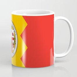 American cities-  Flag of  los angeles Coffee Mug