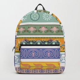 Vintage Ornament Pattern Backpack