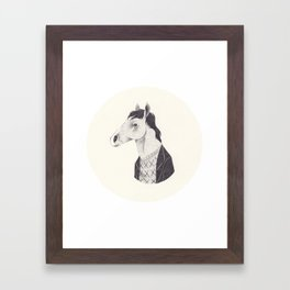 BoJack Framed Art Print