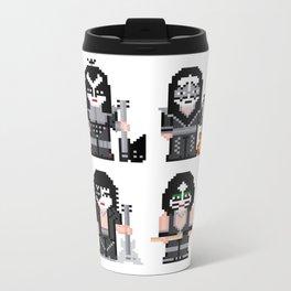 Pixel Kiss Metal Travel Mug