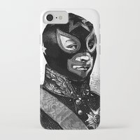wrestling iPhone & iPod Cases featuring Wrestling mask 2 by DIVIDUS
