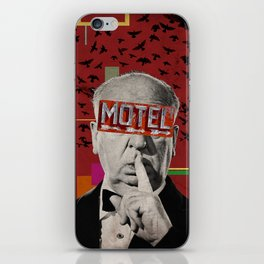 Public Figures Collection -- Hitchcock iPhone Skin