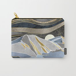 Metallic Sky Carry-All Pouch