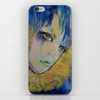 indigo iPhone & iPod Skins featuring Indigo by Michael Creese