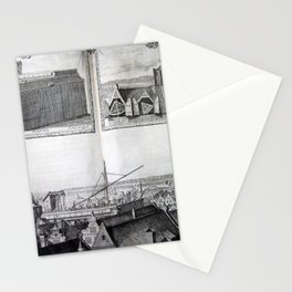 Johannes Hevelius - Celestial Devices, Part 1 - Plate 3 Stationery Cards