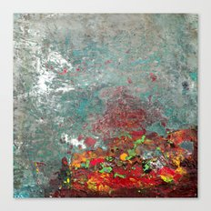 Abstract Distressed #3 Canvas Print