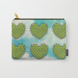 Cactus in the Heart Carry-All Pouch