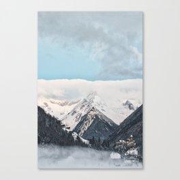 winter scene #society6 #decor #homedecor #buyart Canvas Print