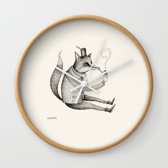 'Theories' Character Wall Clock