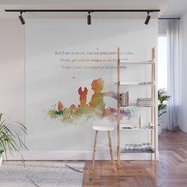 Little Prince Fox Wall Mural