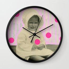 A Pinch Of Neon Wall Clock