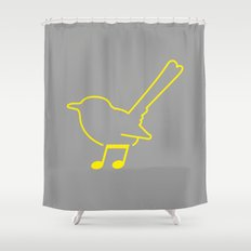Foot Note Shower Curtain