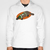 platypus Hoodies featuring Platypus by subpatch