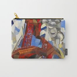 The Red Tower - Eiffel Tower - by Robert Delaunay Carry-All Pouch