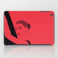hepburn iPad Cases featuring Hepburn by Agnes Domokos