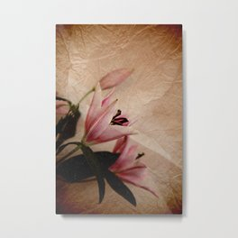 Flowers for a dream Metal Print
