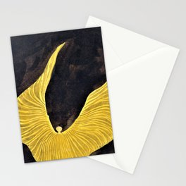 Koloman Moser - Loie Fuller in the Dance, The Archangel - Digital Remastered Edition Stationery Cards