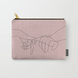 Blush Pinky Carry-All Pouch