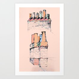 Chim Chim-in-ey Art Print