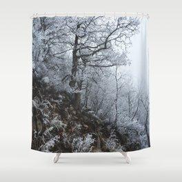 Blizzard // #TravelSeries Shower Curtain
