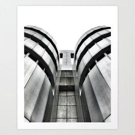 ICC Berlin Art Print