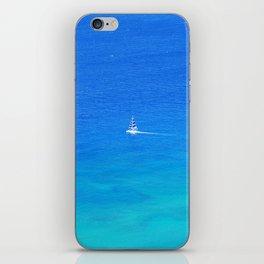 Big Blue iPhone Skin
