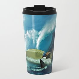 Sleeping with Sharks Travel Mug
