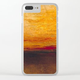 William Turner - Sunset Clear iPhone Case