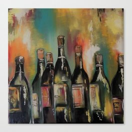 Time for Wine Canvas Print