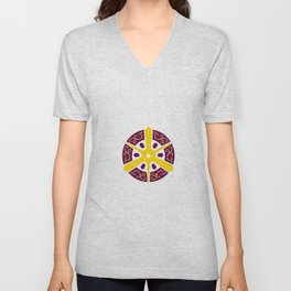 Flag of Kyoto Unisex V-Neck