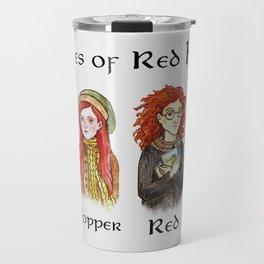 Types of Red Hair Travel Mug