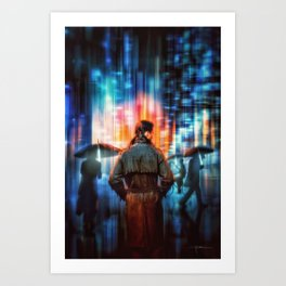 Blade Runner 2049 – The City (2017) Art Print