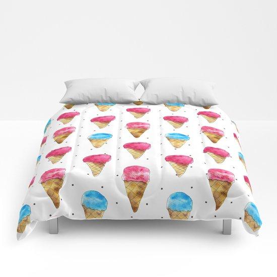 Ice cream cones Comforters