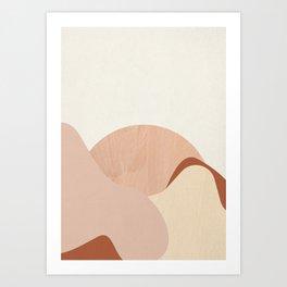 Strange Landscape II Art Print