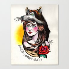 Chica Lobo Canvas Print