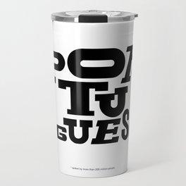 Heavy Weight Language  Travel Mug