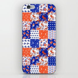 Florida University gators swamp life varsity team spirit college football quilted pattern gifts iPhone Skin
