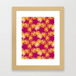Batik Floral 1 Framed Art Print