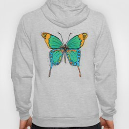 Simple Colorful Butterfly Hoody