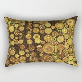 Glitter Grunge Rectangular Pillow