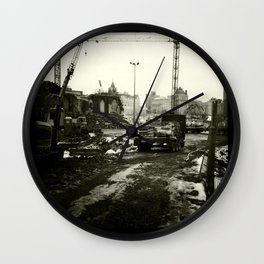 Work in progress / Travaux en cours Wall Clock