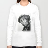mexico Long Sleeve T-shirts featuring MEXICO 1 by MiroArt